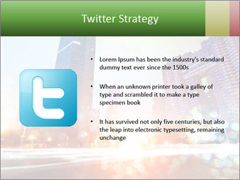 The light trails PowerPoint Template - Slide 9