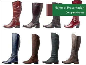 High boots PowerPoint Template