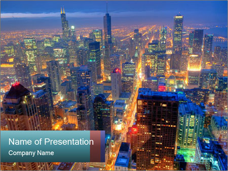 Chicago Skyline PowerPoint Template