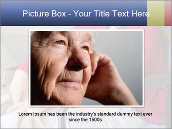 Woman waiting for her doctor PowerPoint Template - Slide 15