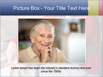 Woman waiting for her doctor PowerPoint Template - Slide 16