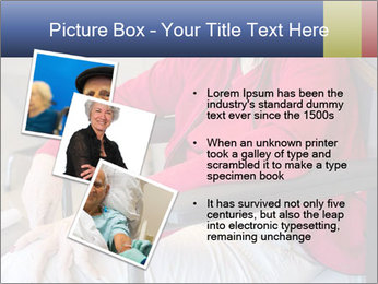 Woman waiting for her doctor PowerPoint Template - Slide 17