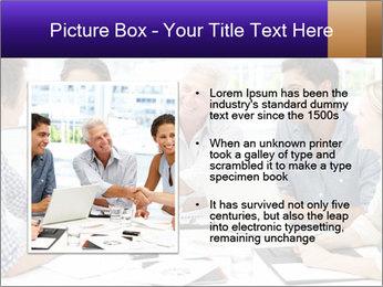 Business meeting PowerPoint Template - Slide 13