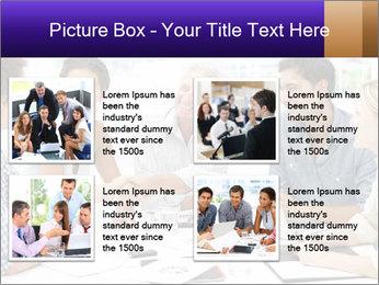 Business meeting PowerPoint Template - Slide 14