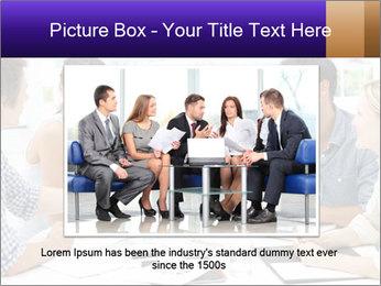 Business meeting PowerPoint Template - Slide 16