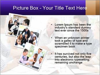Business meeting PowerPoint Template - Slide 17