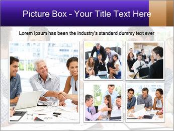 Business meeting PowerPoint Template - Slide 19