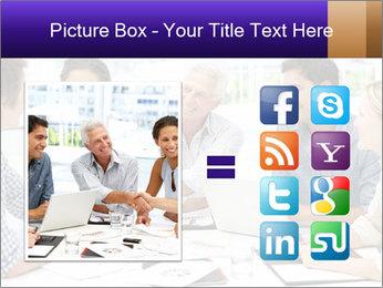 Business meeting PowerPoint Template - Slide 21