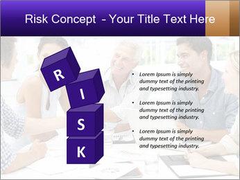 Business meeting PowerPoint Template - Slide 81