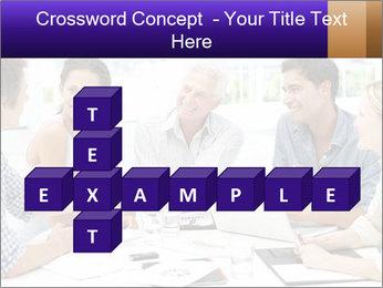 Business meeting PowerPoint Template - Slide 82