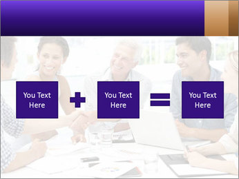 Business meeting PowerPoint Template - Slide 95
