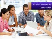 Mixed group PowerPoint Template