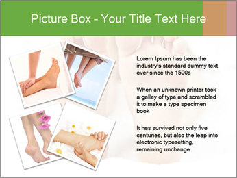 Soles of soft female PowerPoint Template - Slide 23