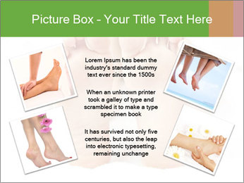 Soles of soft female PowerPoint Template - Slide 24