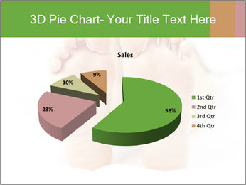 Soles of soft female PowerPoint Template - Slide 35