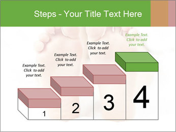 Soles of soft female PowerPoint Template - Slide 64