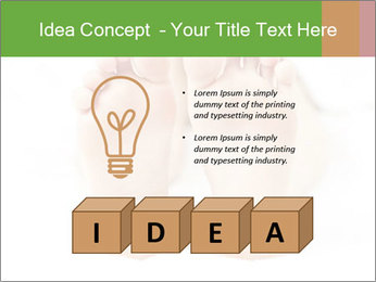 Soles of soft female PowerPoint Template - Slide 80