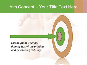 Soles of soft female PowerPoint Template - Slide 83