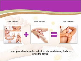Female massage foot PowerPoint Template - Slide 22