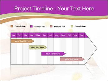 Female massage foot PowerPoint Template - Slide 25