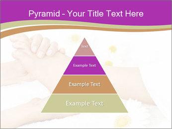Female massage foot PowerPoint Template - Slide 30