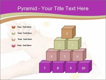 Female massage foot PowerPoint Template - Slide 31
