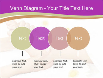 Female massage foot PowerPoint Template - Slide 32