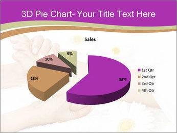 Female massage foot PowerPoint Template - Slide 35