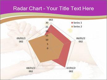 Female massage foot PowerPoint Template - Slide 51