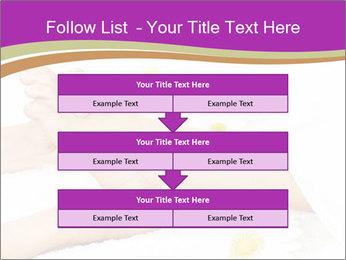 Female massage foot PowerPoint Template - Slide 60