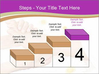 Female massage foot PowerPoint Template - Slide 64