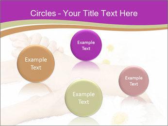Female massage foot PowerPoint Template - Slide 77