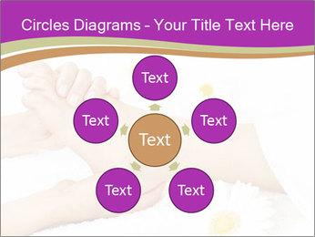 Female massage foot PowerPoint Template - Slide 78