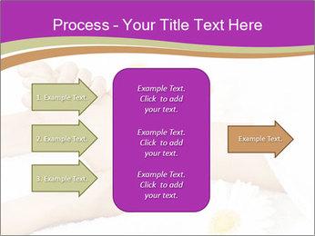 Female massage foot PowerPoint Template - Slide 85