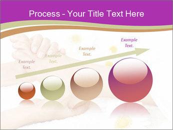 Female massage foot PowerPoint Template - Slide 87