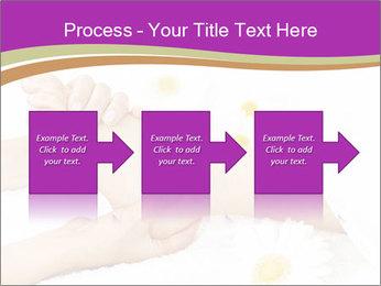 Female massage foot PowerPoint Template - Slide 88