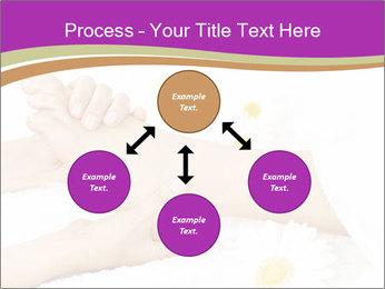 Female massage foot PowerPoint Template - Slide 91