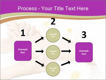 Female massage foot PowerPoint Template - Slide 92