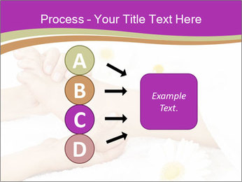 Female massage foot PowerPoint Template - Slide 94
