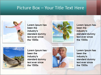 Middle-aged couple PowerPoint Template - Slide 14