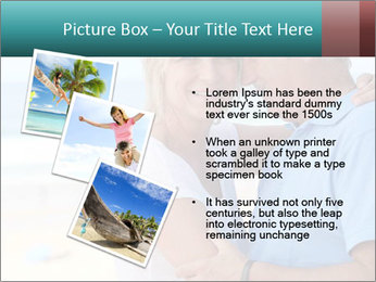 Middle-aged couple PowerPoint Template - Slide 17