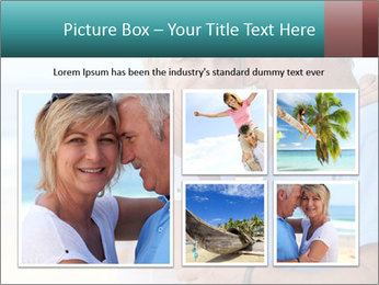 Middle-aged couple PowerPoint Template - Slide 19