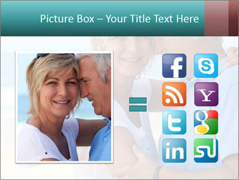 Middle-aged couple PowerPoint Template - Slide 21
