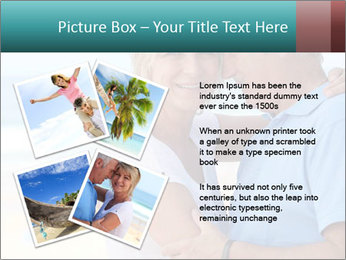 Middle-aged couple PowerPoint Template - Slide 23