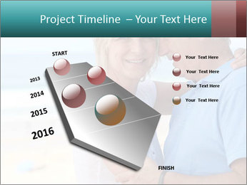 Middle-aged couple PowerPoint Template - Slide 26