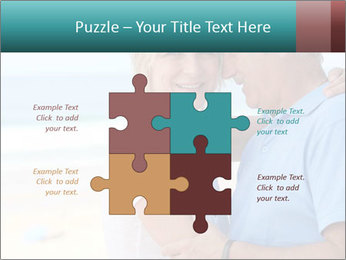 Middle-aged couple PowerPoint Template - Slide 43