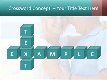 Middle-aged couple PowerPoint Template - Slide 82