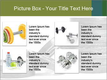 Weights PowerPoint Template - Slide 14