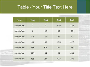 Weights PowerPoint Template - Slide 55