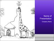 Utilizing giraffe's PowerPoint Templates